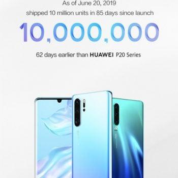Smartfony z serii Huawei P30 sprzedają się jak marzenie
