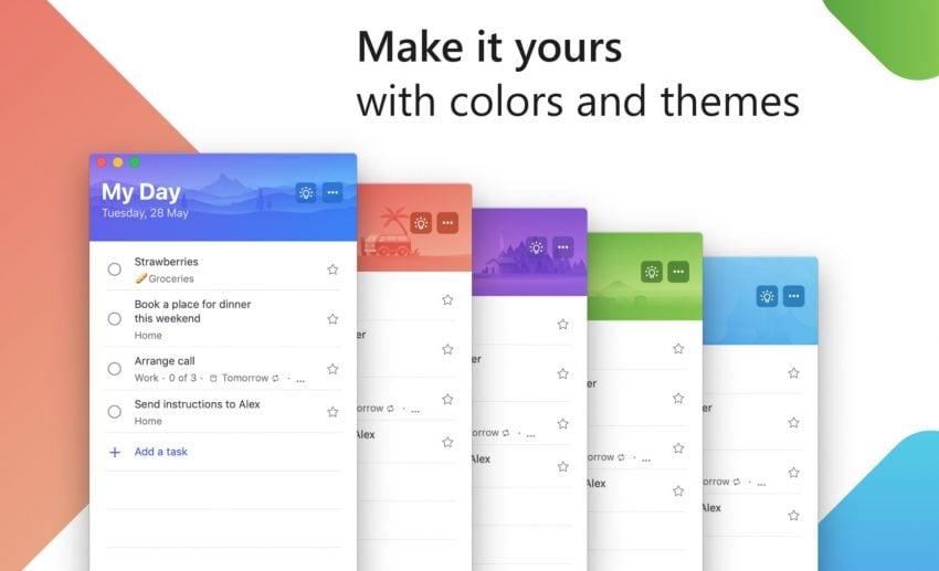 Po dwóch latach, Microsoft udostępnia aplikację To-Do dla komputerów Apple 21