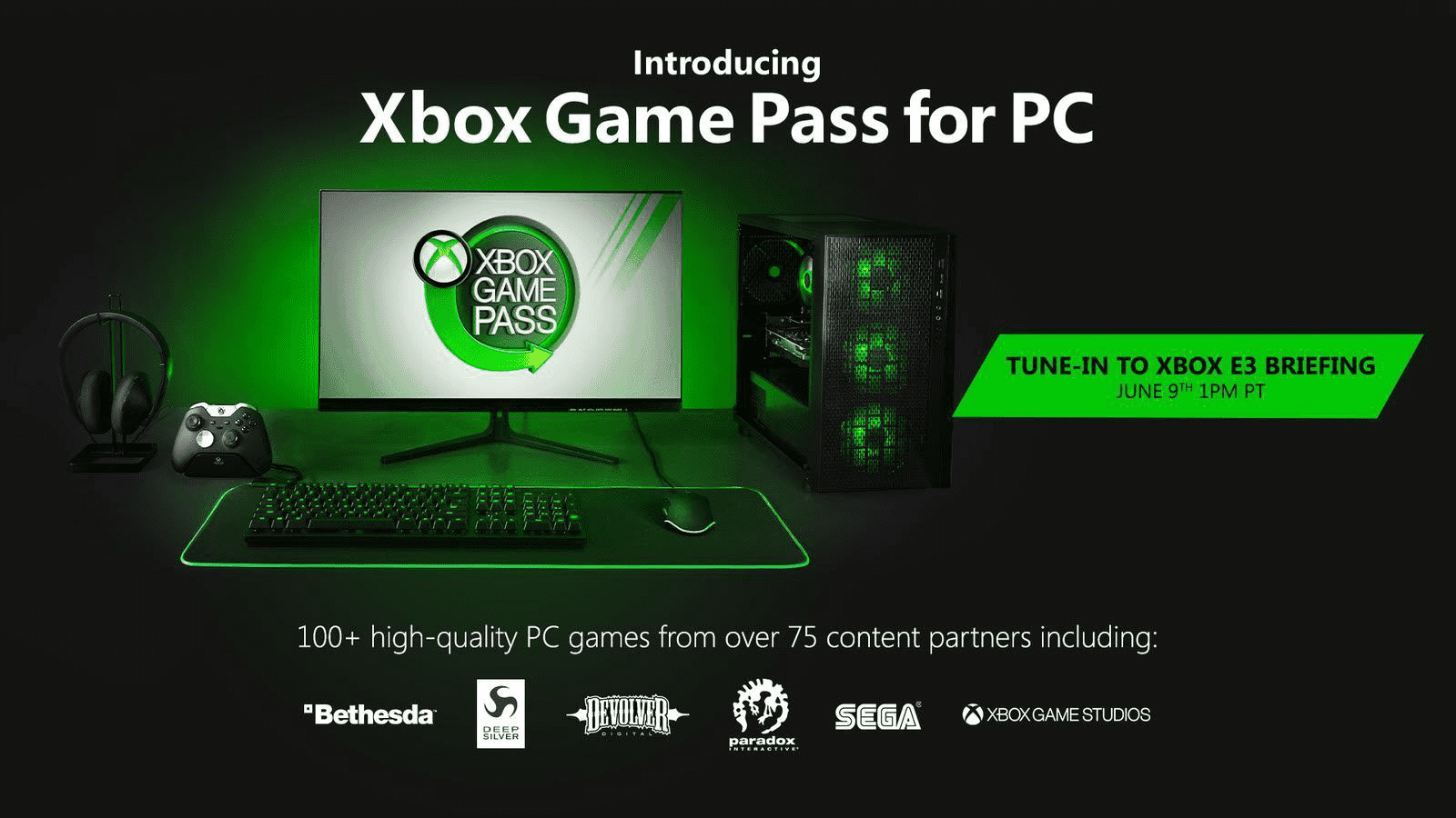 Znamy listę ponad 100 gier, które trafią do usługi Xbox Game Pass PC!