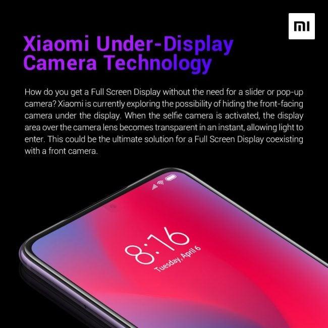 Jak oni to zrobili? - aparat przedni Xiaomi ukryty pod wyświetlaczem
