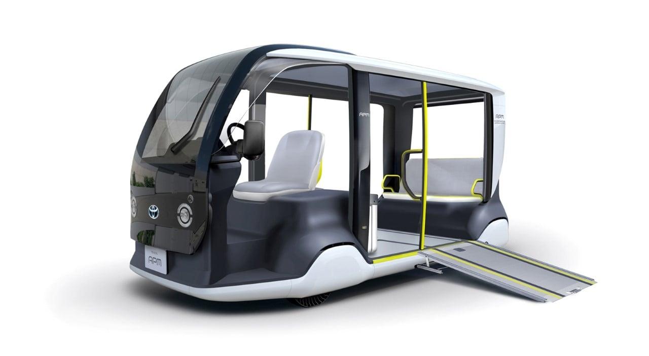 Toyota zaprezentowała elektryczne pojazdy na Igrzyska w Tokio