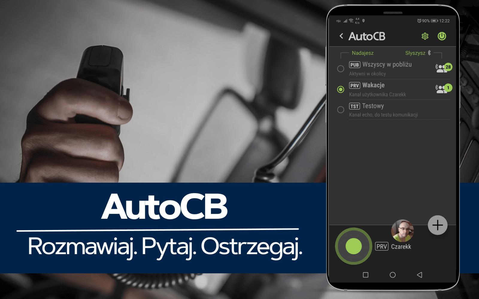AutoMapa wydaje komunikator dla kierowców z funkcją CB Radia 19