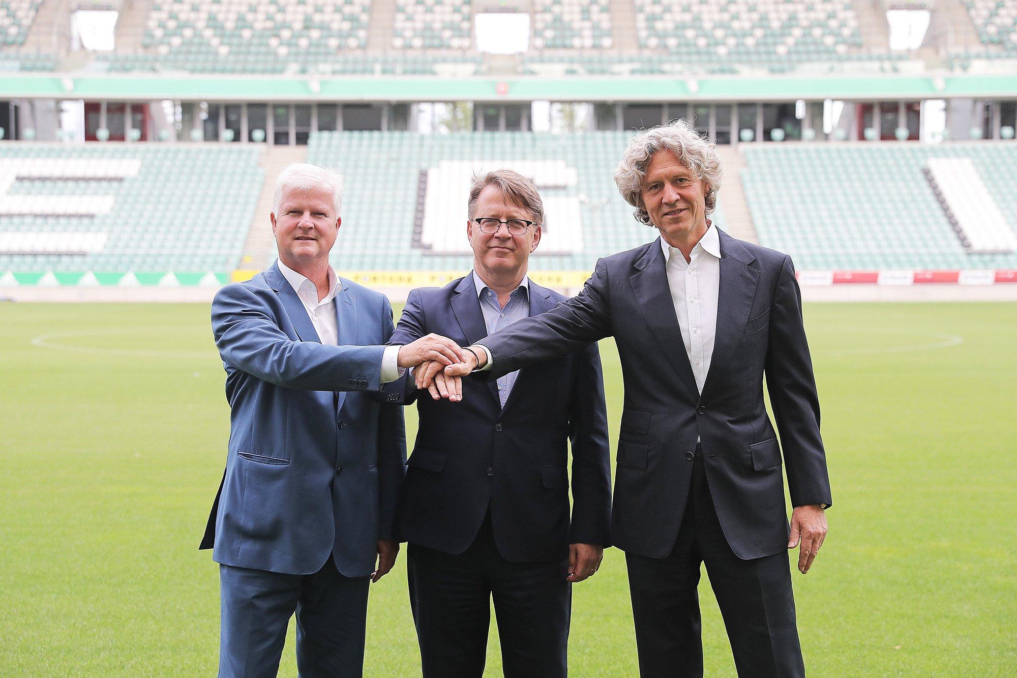 Stadion Legii Warszawy otrzyma 5G. Z sieci skorzystają również kibice