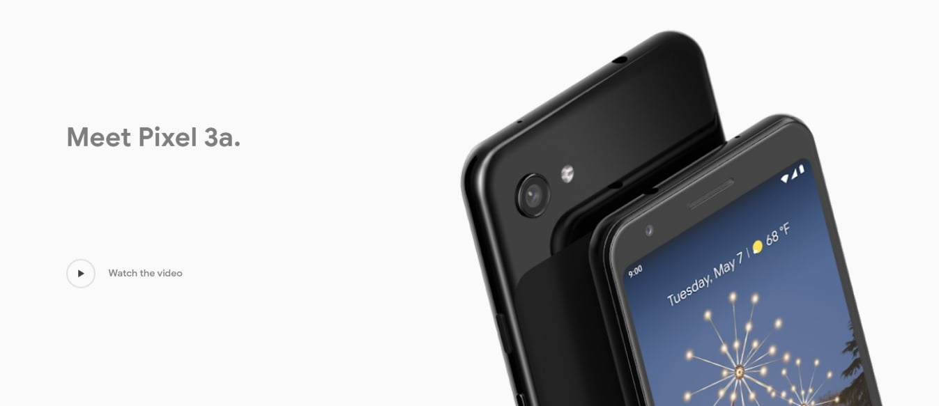 smartfon Google Pixel 3a