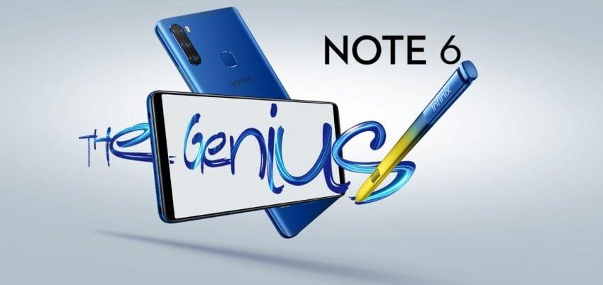 smartfon Infinix Note 6