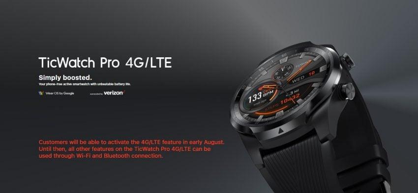 smartwatch Mobvoi TicWatch Pro 4G/LTE