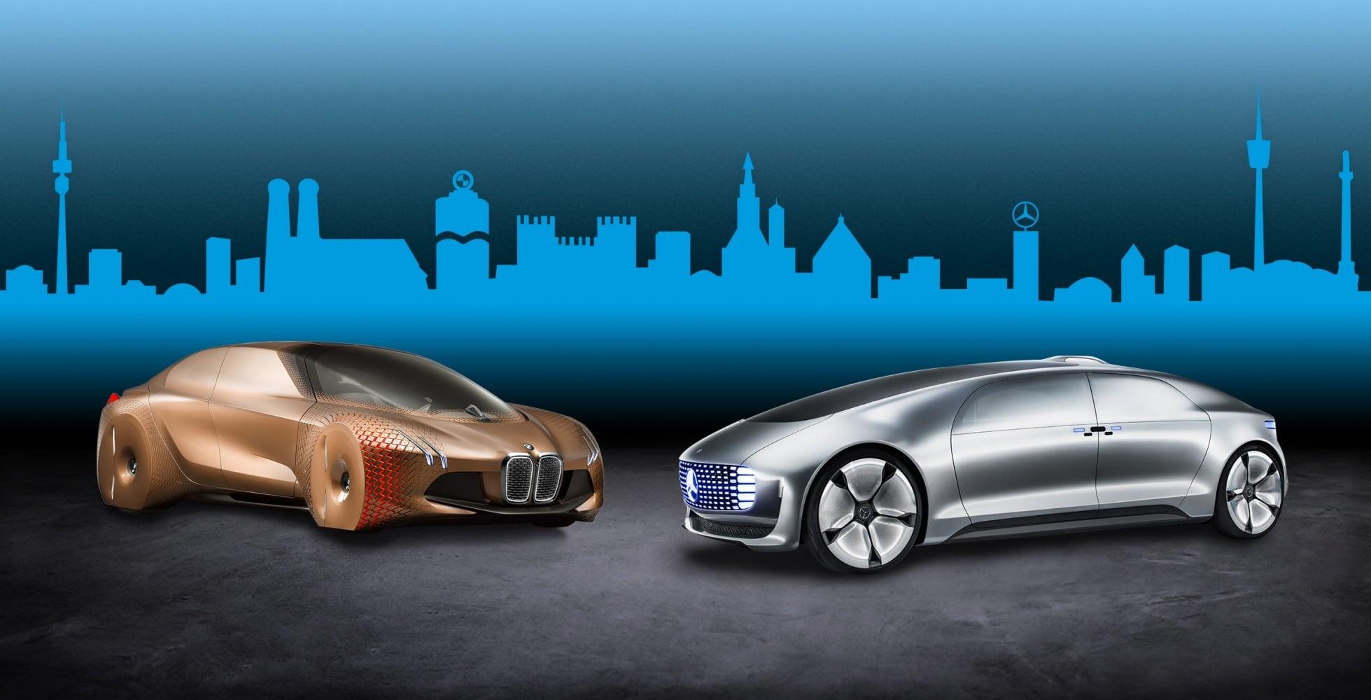 BMW i Mercedes połączą siły, aby razem pracować nad autonomicznątechnologią