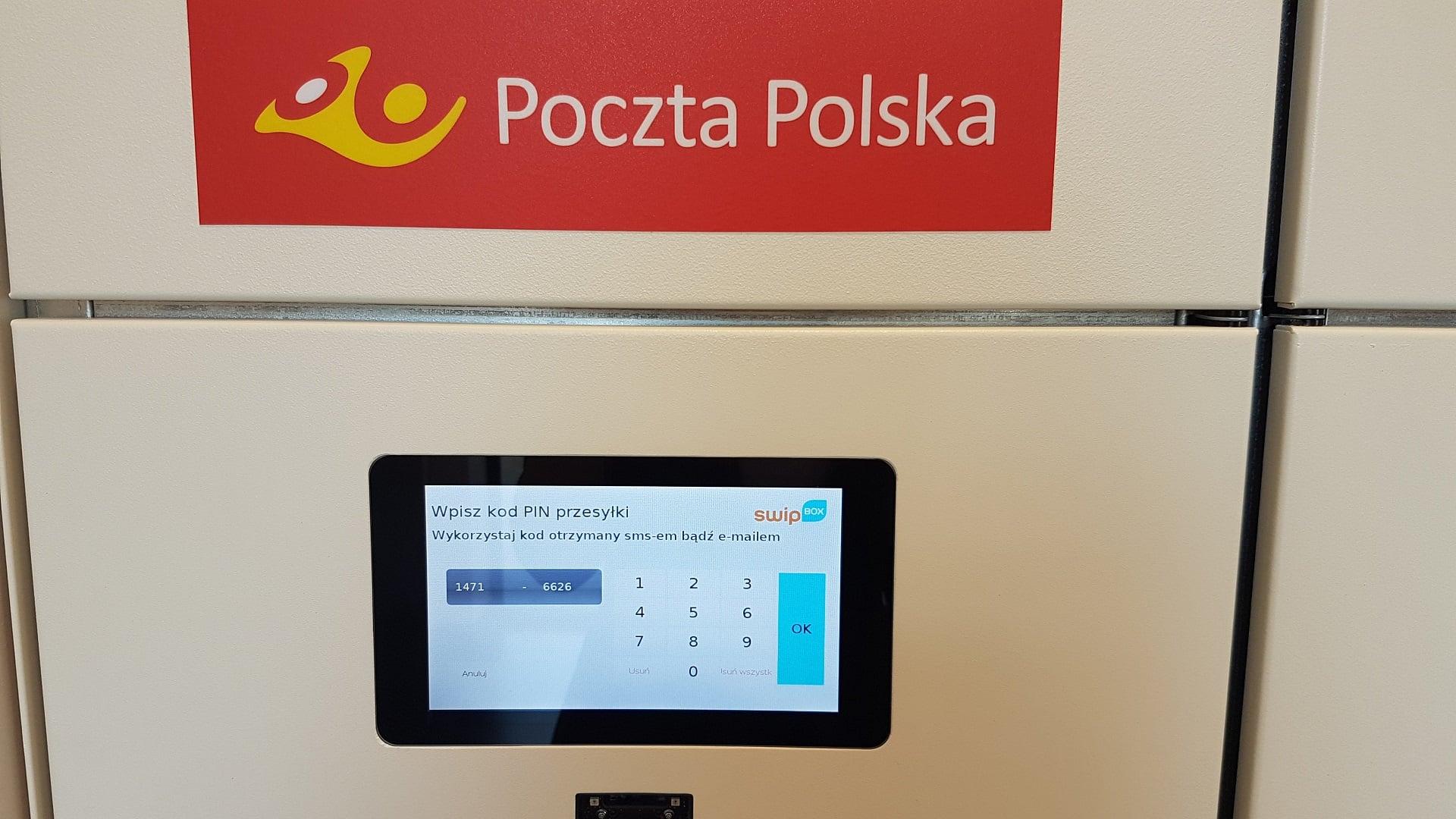 Poczta Polska automat paczkowy