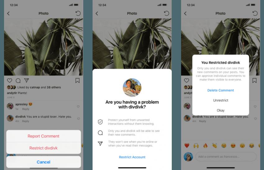 Instagram: oto dwie funkcje, które pomogą walczyć z brzydkimi komentarzami