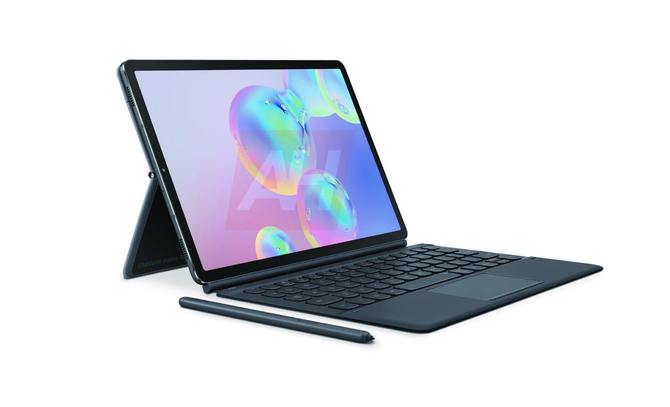 Nareszcie jakiś ruch w wyglądzie tabletów. Samsung Galaxy Tab S6 na grafikach