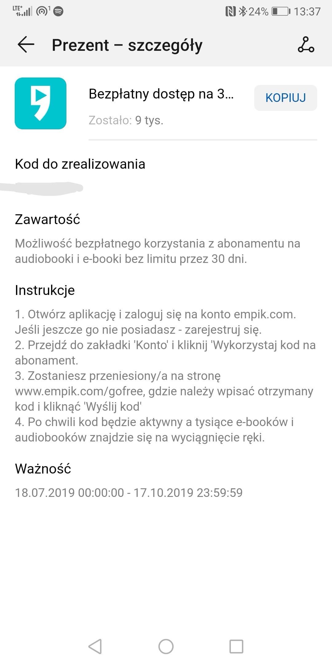 Darmowe Audiobooki I Ebooki Z Empik Go Dla Uzytkownikow Smartfonow
