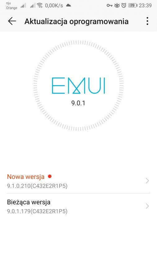 Honor 9 dostaje EMUI 9.1