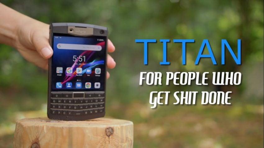 smartfon Unihertz Titan