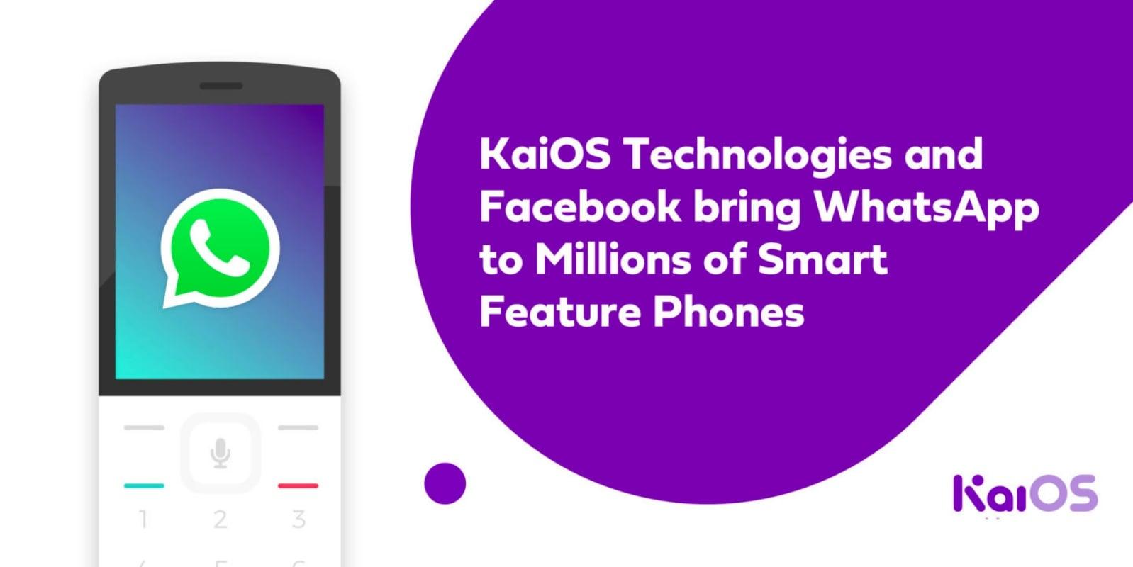 To naprawdę dobra wiadomość! WhatsApp od teraz dla wielu użytkowników KaiOS 17