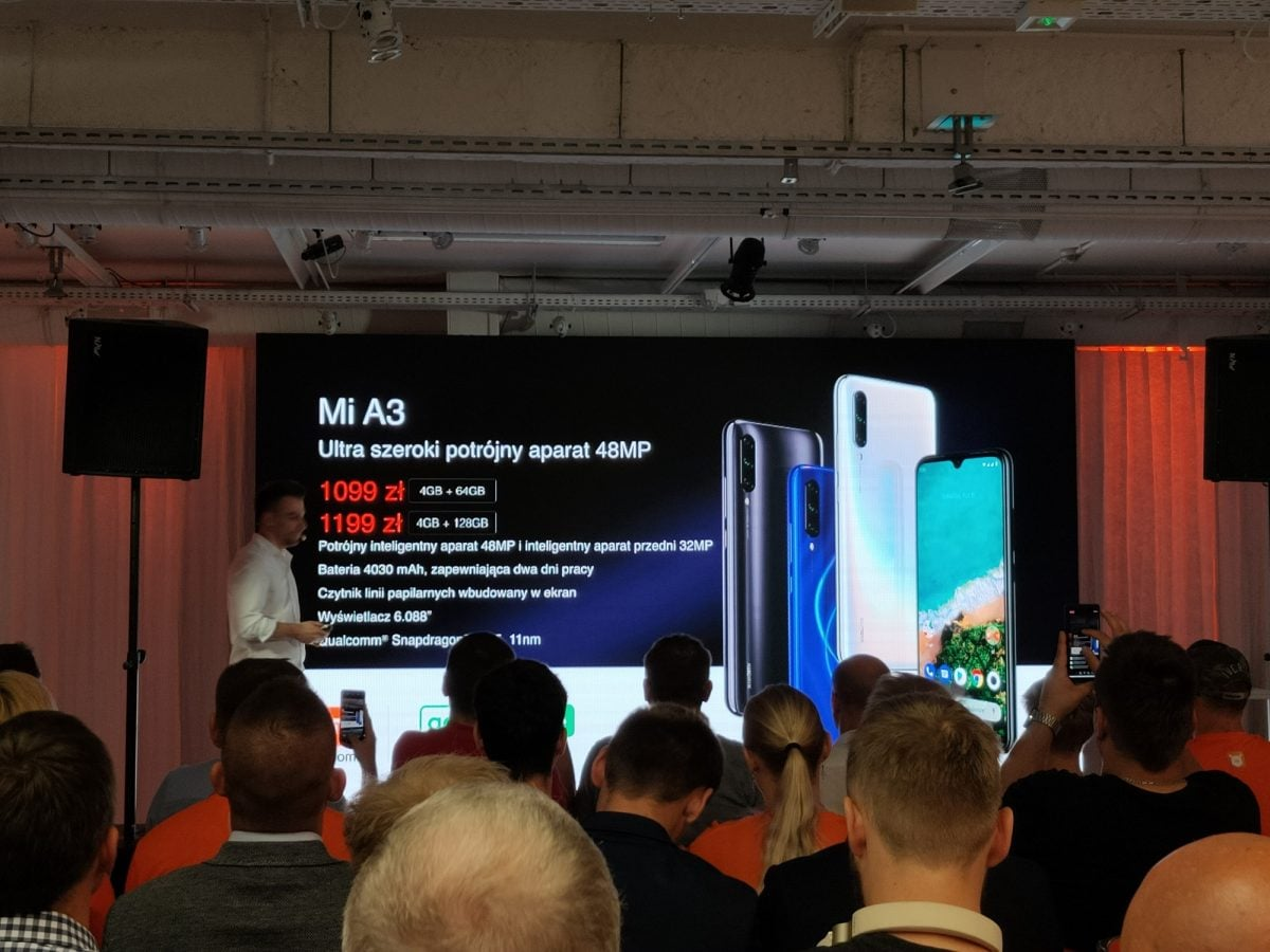 Xiaomi Mi A3 - cena w Polsce