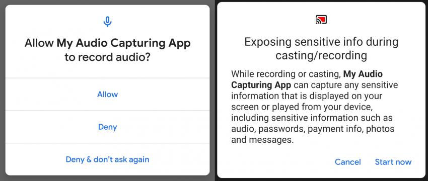 Android Q i przechwytywanie dźwięku – nadchodzą pozytywne zmiany