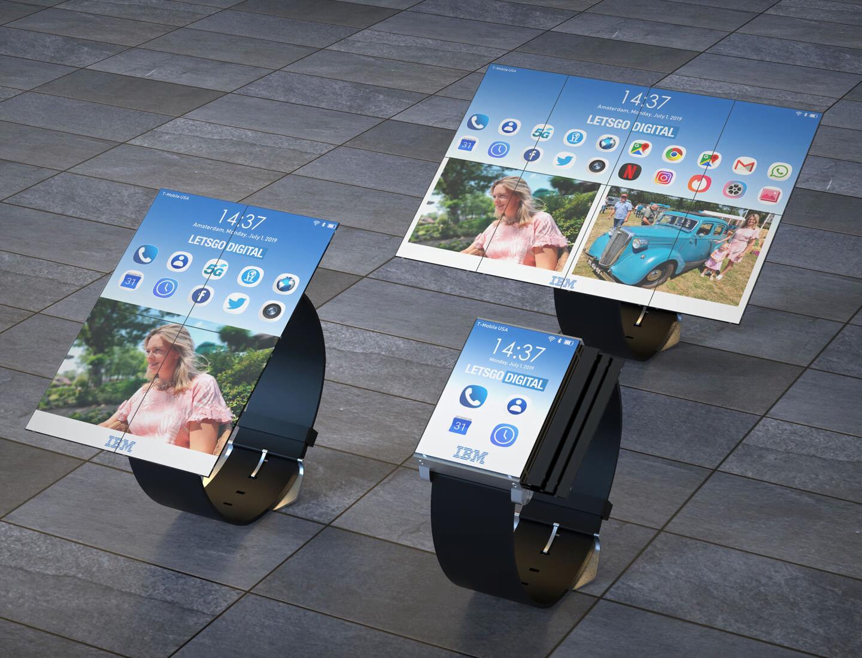 Dawno nie widziałem czegoś tak dziwnego. To projekt smartwatcha, który rozkłada się w tablet 18