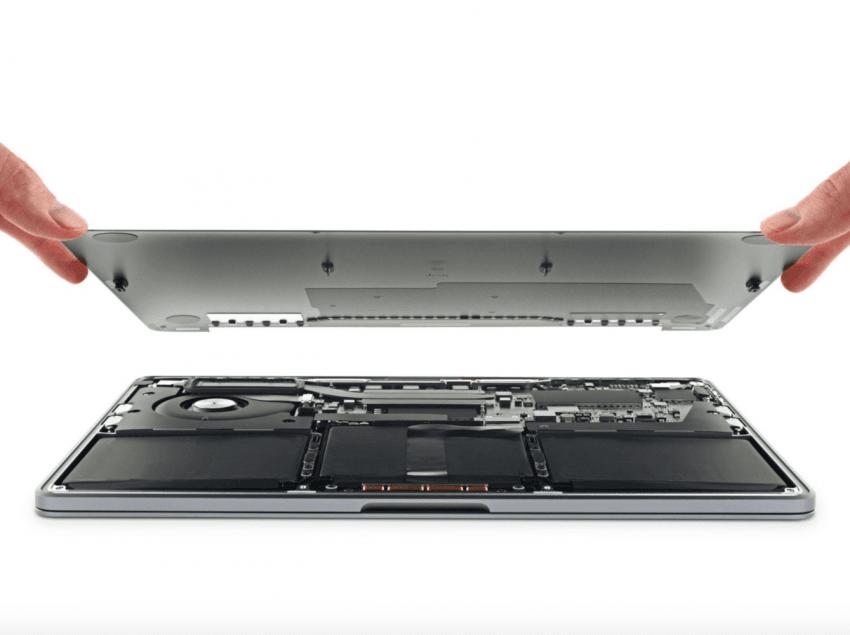 """Nowy MacBook Pro rozebrany przez iFixit. Ocena """"naprawialności"""" nie zachwyca"""