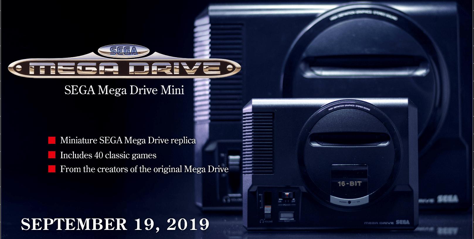 Moda na konsole retro trwa - nadchodzi SEGA Mega Drive Mini