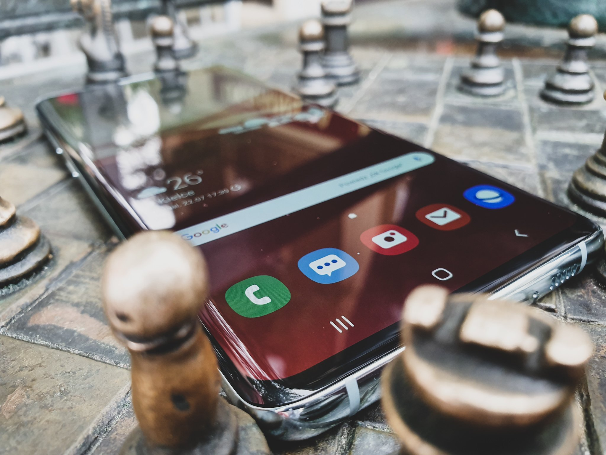 Gdy robota musi być zrobiona... Samsung Galaxy S10+ 23