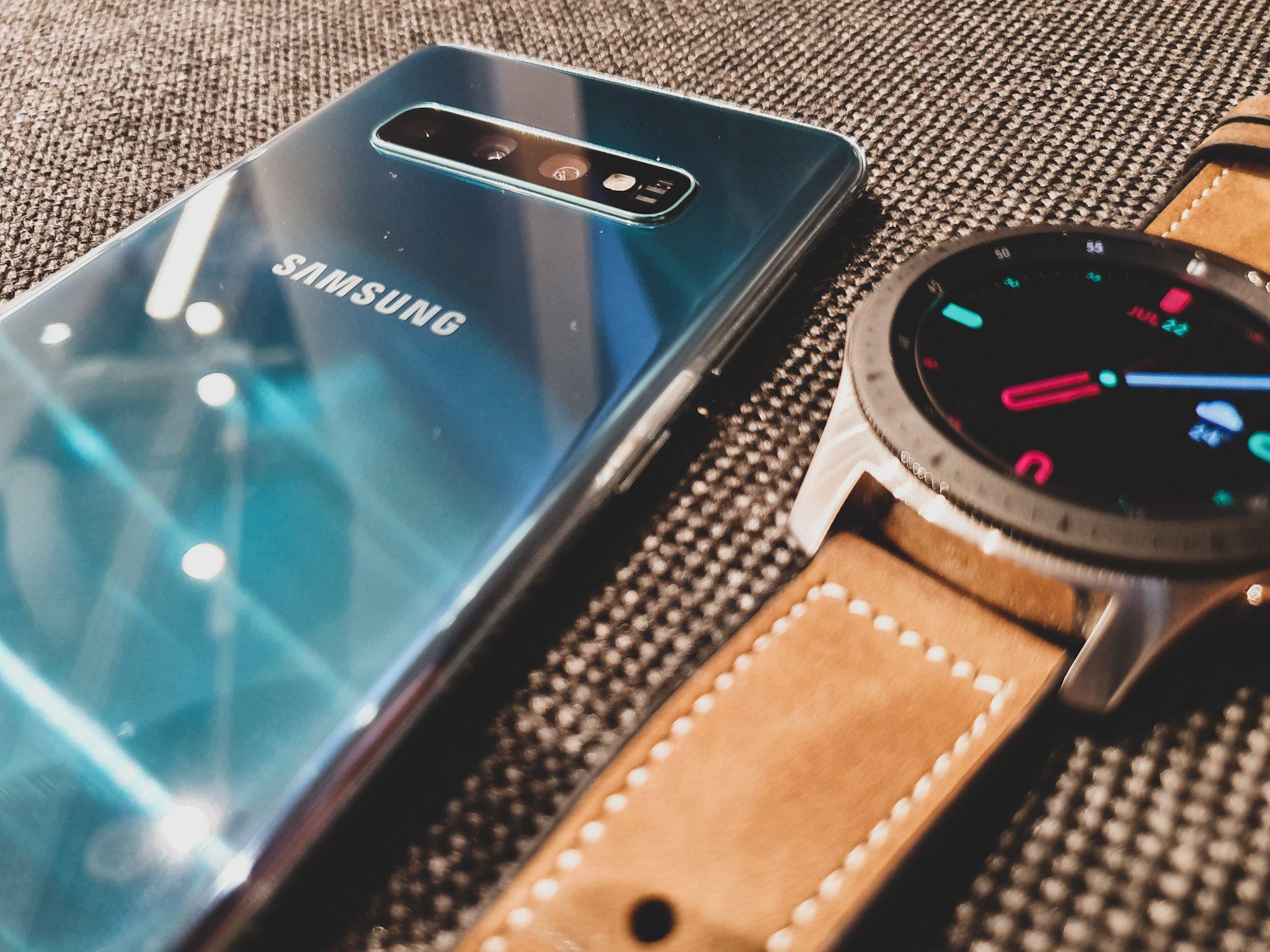 Gdy robota musi być zrobiona... Samsung Galaxy S10+