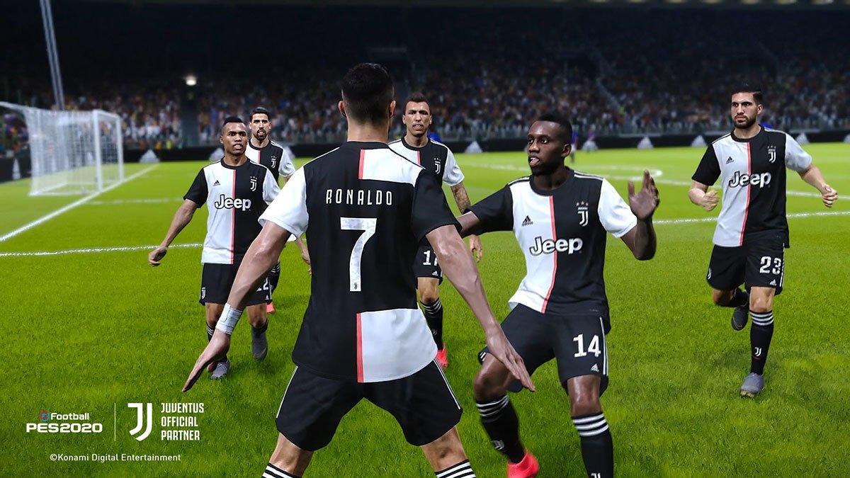 PES 2020 dostał wyłączną licencję na Juventus i jego stadion