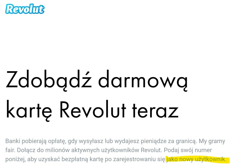 Pół miliona użytkowników Revolut w Polsce. Z tej okazji - darmowa karta i 10 zł dla nowych klientów