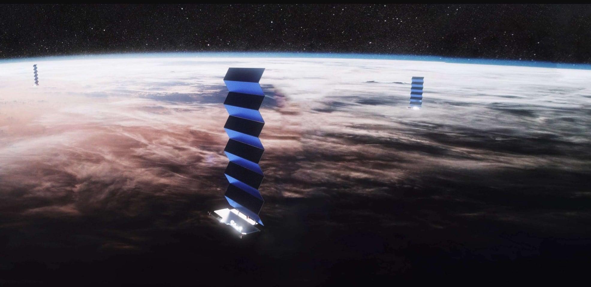 Cena postępu: pięć satelitów SpaceX Starlink spłonie w atmosferze 24