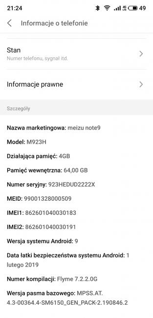 Recenzja Meizu Note 9, czyli niezłego smartfona z kilkoma niedoróbkami 33