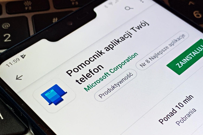 Microsoft korzysta z menu udostępniania na Androidzie, aby reklamować aplikacje