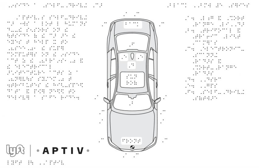 Lyft i Aptiv chcą dostosować samochody autonomiczne dla osób niewidomych