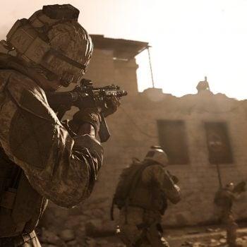 Call of Duty: Modern Warfare - obsługa klawiatury i myszy na PlayStation 4