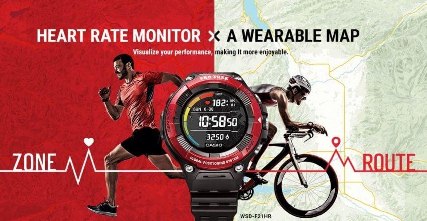 smartwatch Casio WSD-F21HR