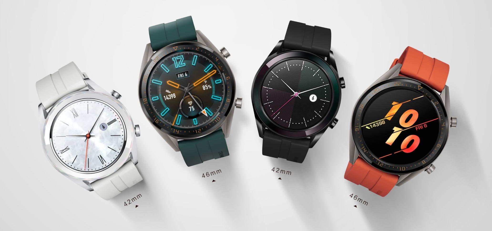Huawei tymczasowo obniża ceny zegarków Watch GT Active oraz Watch GT 20