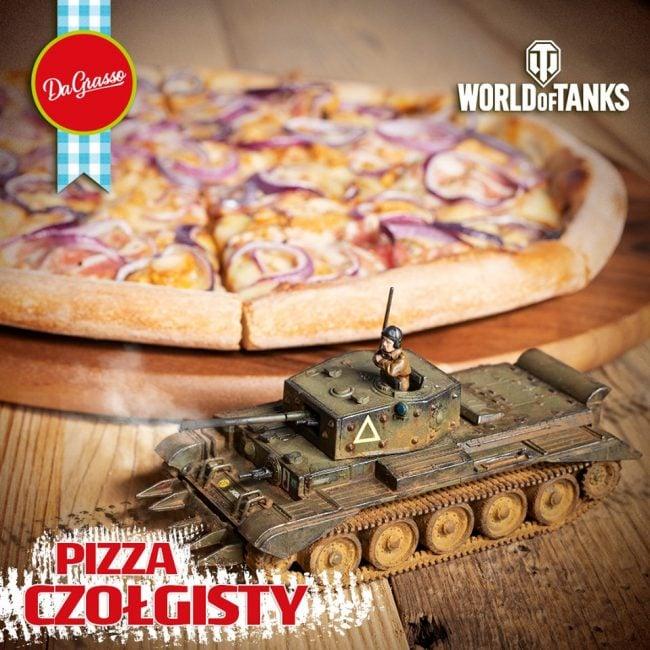 Da Grasso zaserwuje specjalną pizzę dla wygłodniałych czołgistów z World of Tanks