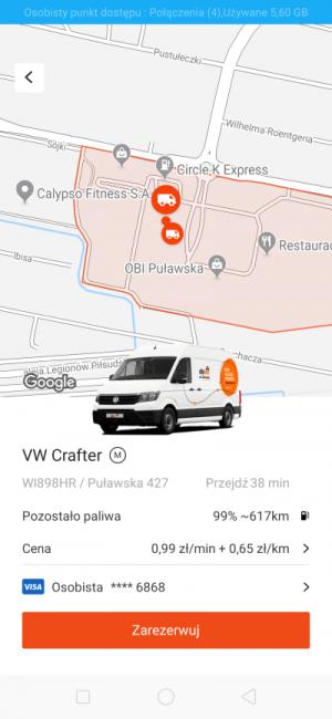 Auto na minuty od CityBee - jak to wygląda w praktyce i ile kosztuje? 32