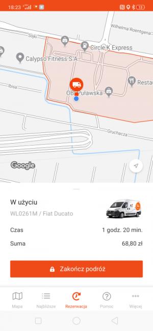 Auto na minuty od CityBee - jak to wygląda w praktyce i ile kosztuje? 33