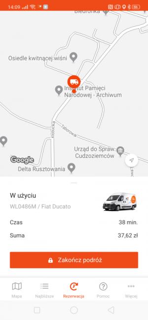 Auto na minuty od CityBee - jak to wygląda w praktyce i ile kosztuje? 28