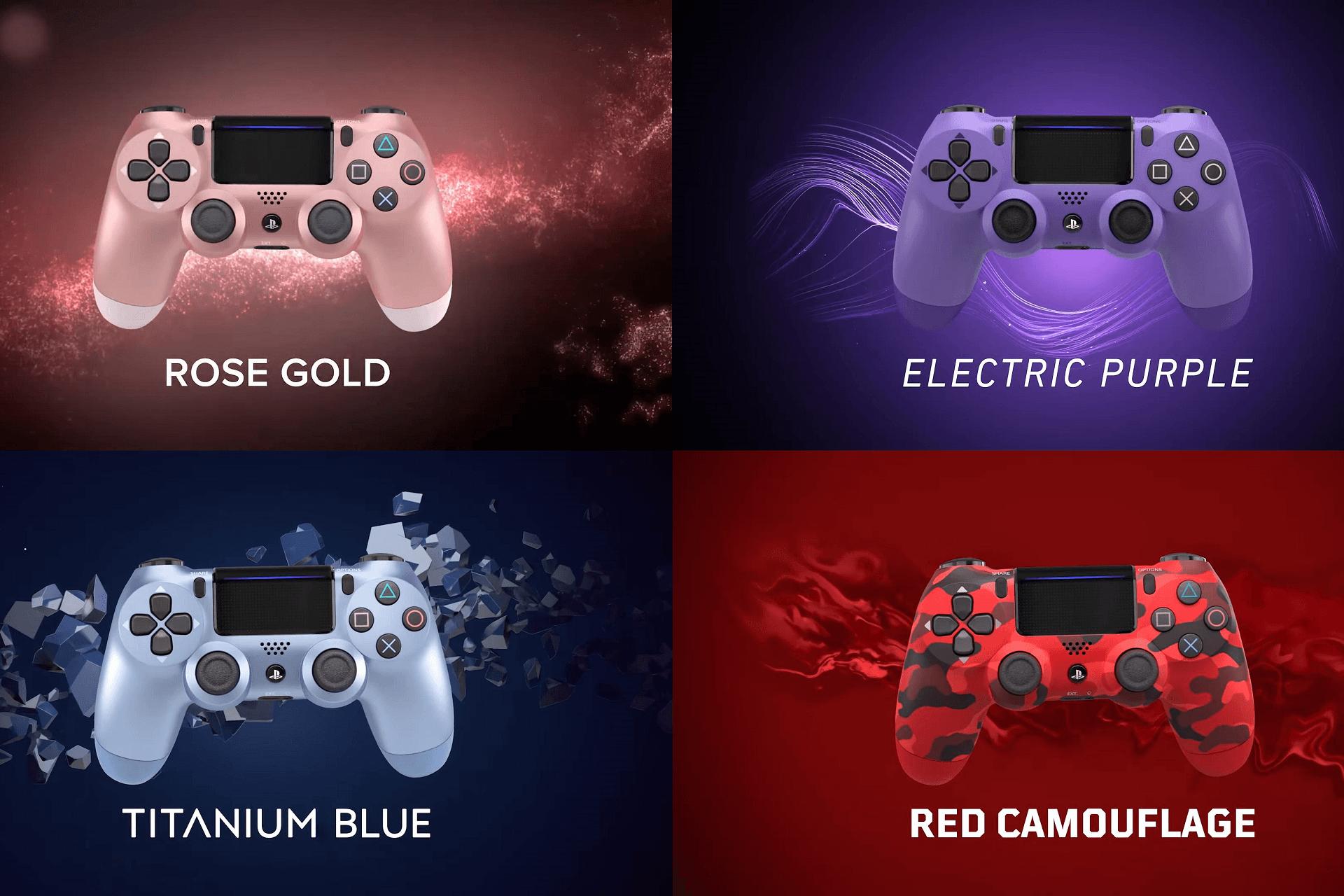 Nowe kolory padów DualShock - jak Wam się podobają? 18
