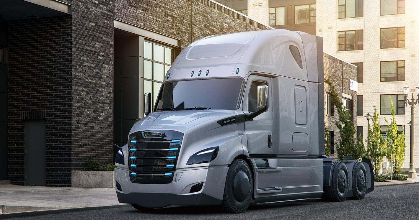 Pierwsze elektryczne ciężarówki Freightliner wkrótce wyruszą na drogi