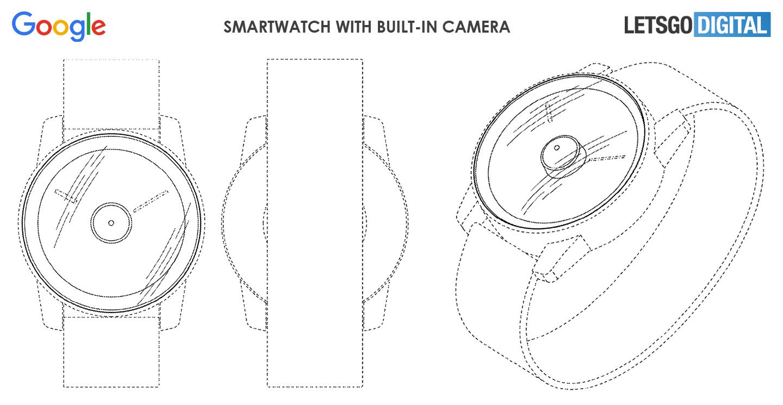 Smartwatch z aparatem - czy to w ogóle ma sens? Zobaczcie ciekawy patent Google