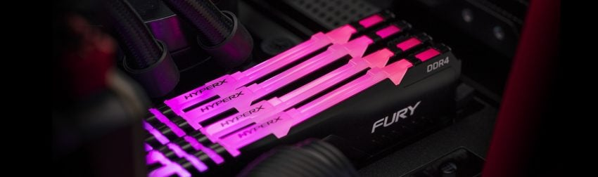 Pamięć RAM Kingston HyperX FURY RGB