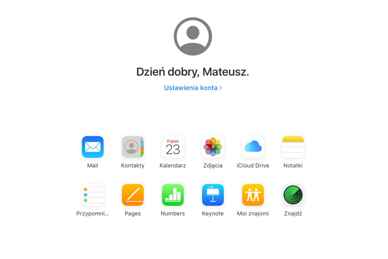 Apple wreszcie przypomniało sobie o iCloud w przeglądarce internetowej
