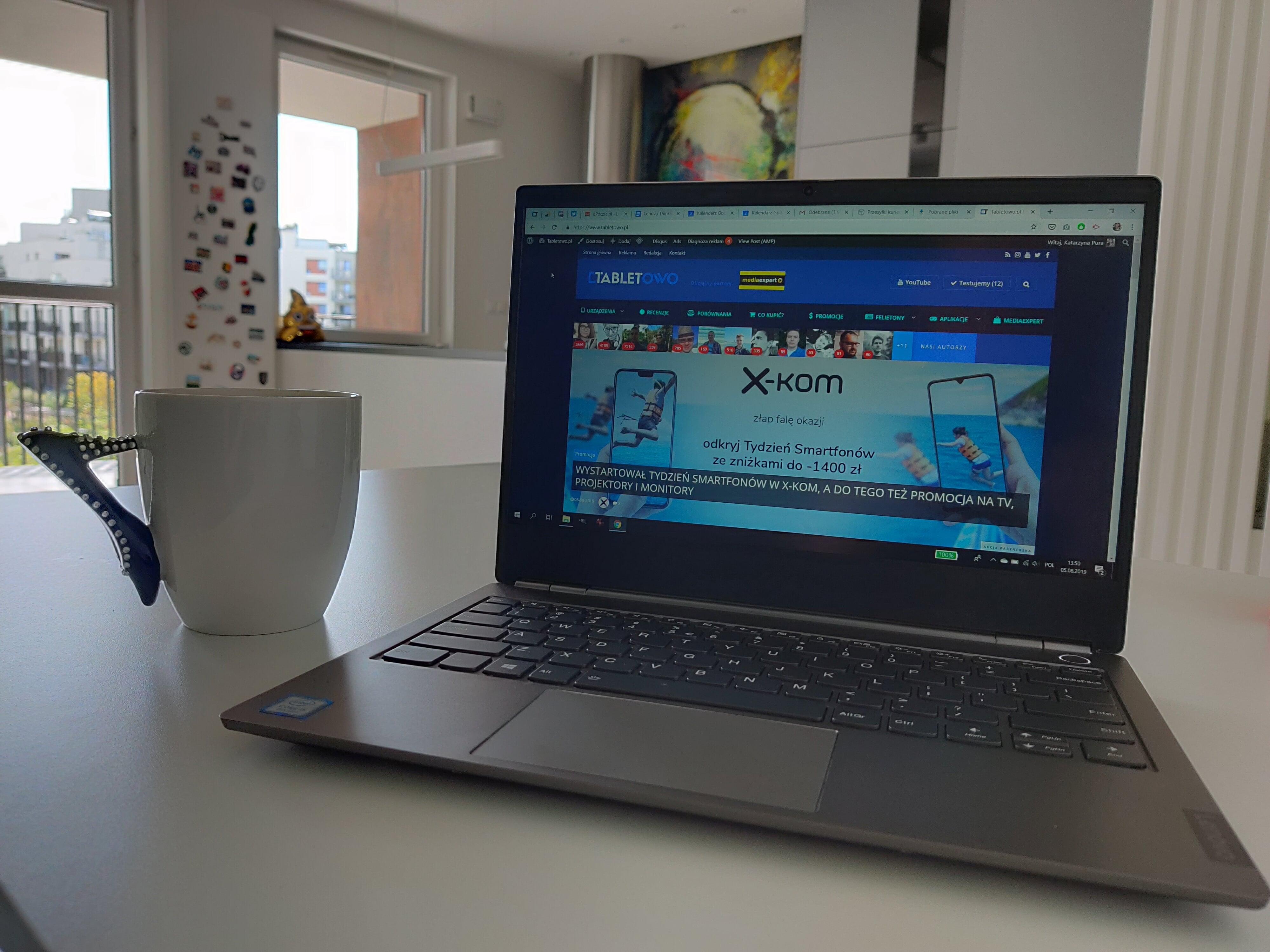 Recenzja ciekawego laptopa za niezłe pieniądze - Lenovo ThinkBook 13s 35
