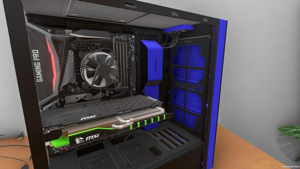 Złóż komputer na konsoli! PC Building Simulator już na PS4, Xbox One oraz Switch