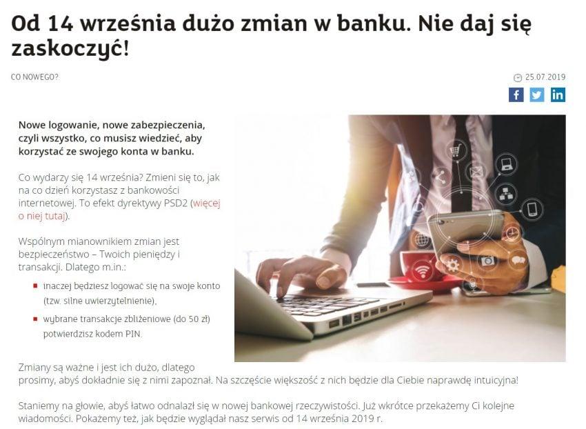 Korzystasz z bankowości elektronicznej? Przeczytaj, to ważne (czyli słowo o dyrektywie PSD2)