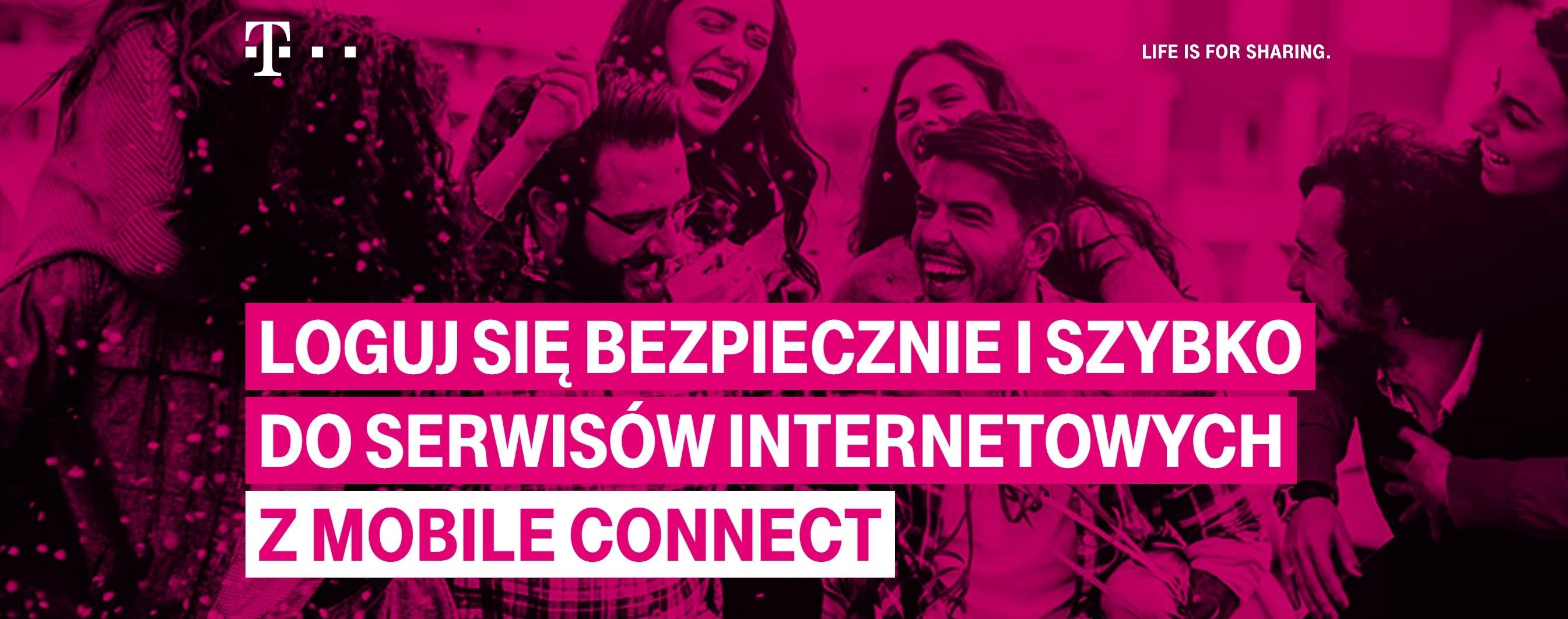 Do Profilu Zaufanego zalogujesz się także przez Mobile Connect od T-Mobile