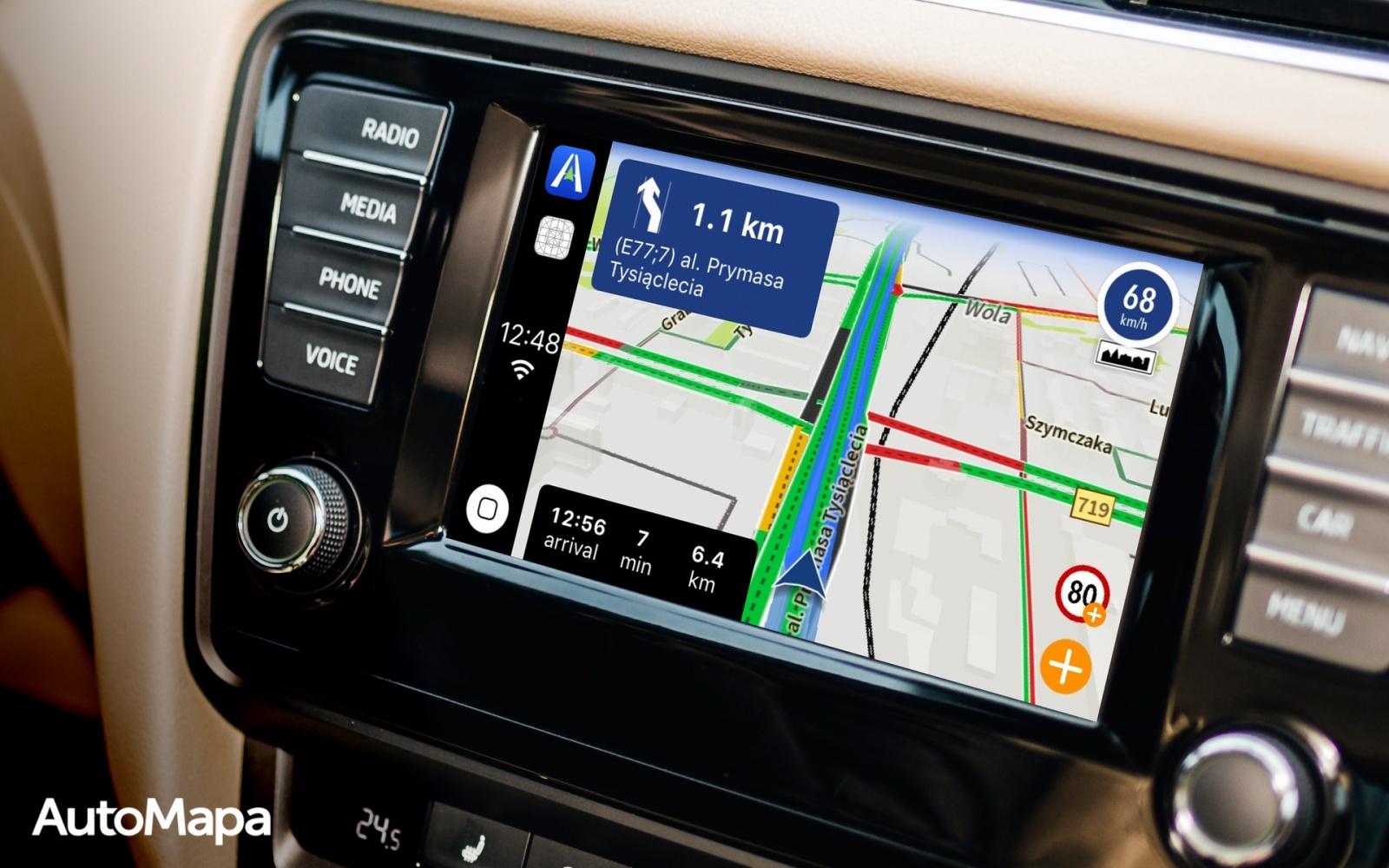 AutoMapa wprowadza funkcjęaktualizacji ograniczeń prędkości i inne nowości