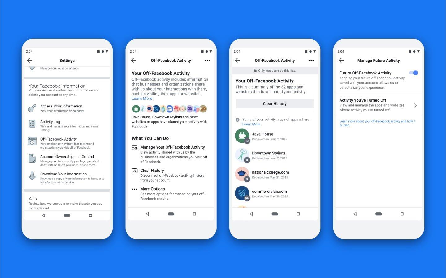Facebook ułatwi kontrolę nad informacjami, które udostępniane są przez inne aplikacje i strony