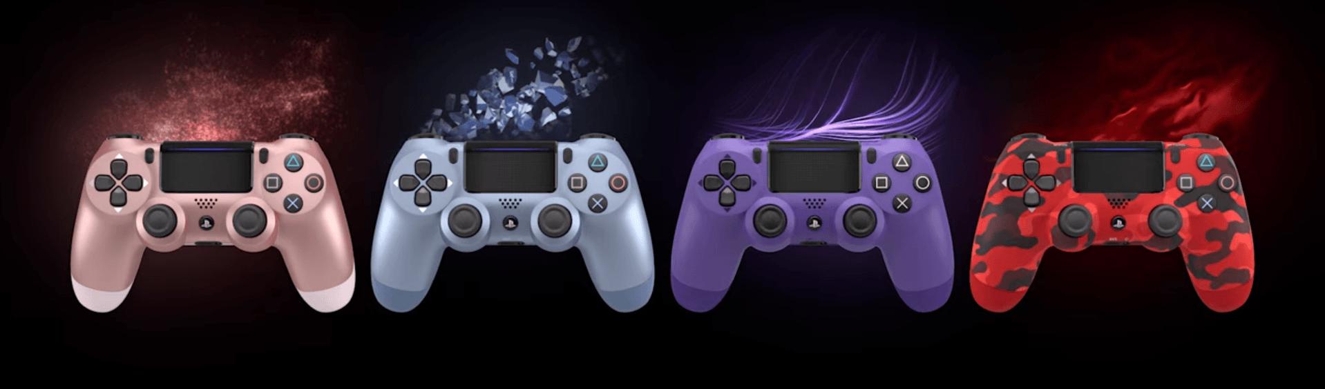 Nowe kolory padów DualShock - jak Wam się podobają? 17